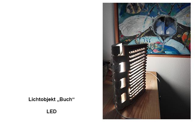 """Lichtobjekt """"Buch"""" LED"""